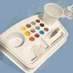 Easy Tattoo Solution Work Plate -12 Tracys