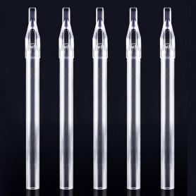 FLAT 05 - Tips lunghe trasparenti 50pz