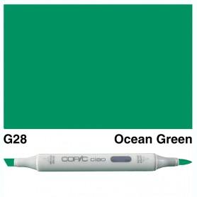 G28 Copic Ciao Ocean Green