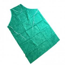Grembiule Monouso TNT/PE Verde acqua 75x110 10pz