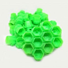 Ink Cup Esagonali Modulari 200 pcs Green
