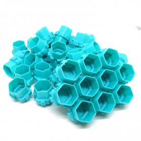 Ink Cup Esagonali Modulari 200 pcs Turquoise