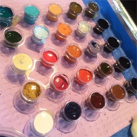 INK CUPS TATTOO 12 Tracys (50CUPSx12blister 600tot) 10mm
