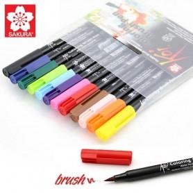 Koi Color Brush set 12 pz SAKURA
