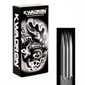 KWADRON® Needles Round Shader 07 - 0,35 Long Taper