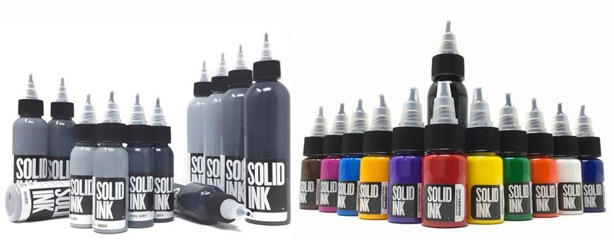 SOLID INK SET